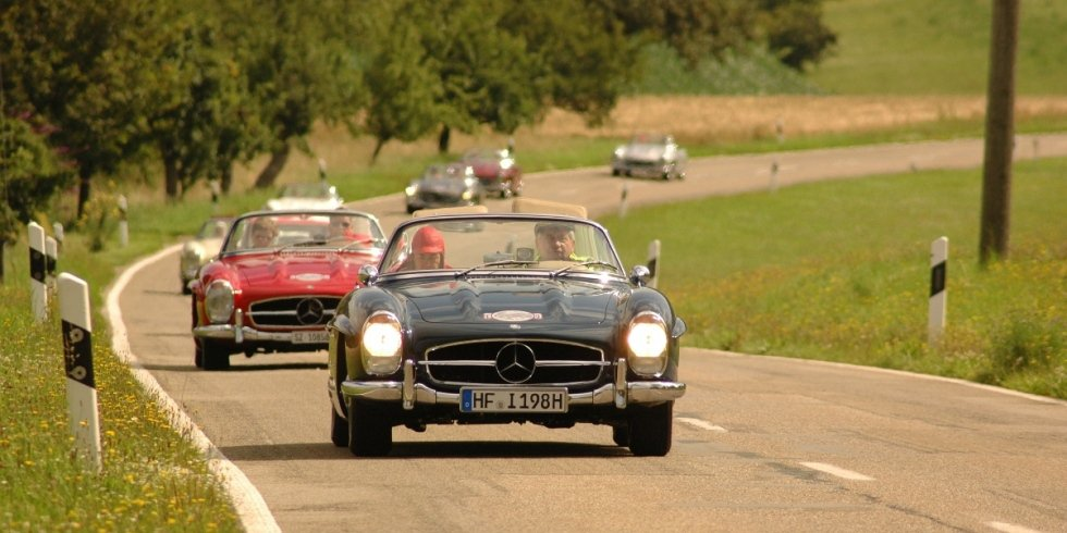 Friends of 300SL Rallye 2009 Feinste Strecken