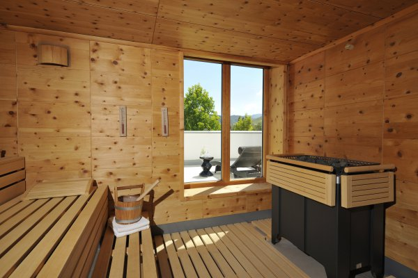 Sauna im Ritter Spa in Durbach