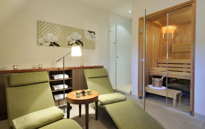 Private Spa Suite mit Sauna im Hotel Ritter